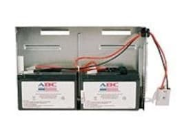 American Battery Replacement Battery Cartridge RBC22 for APC SU700RM2U and SUA750RM2U models, RBC22, 462077, Batteries - Other