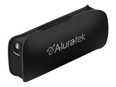 Aluratek Portable Battery Charger Black
