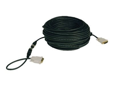 Tripp Lite Easy-Pull DVI-D Monitor Cable, Black, 50ft, P561-050-EZ, 8442701, Cables