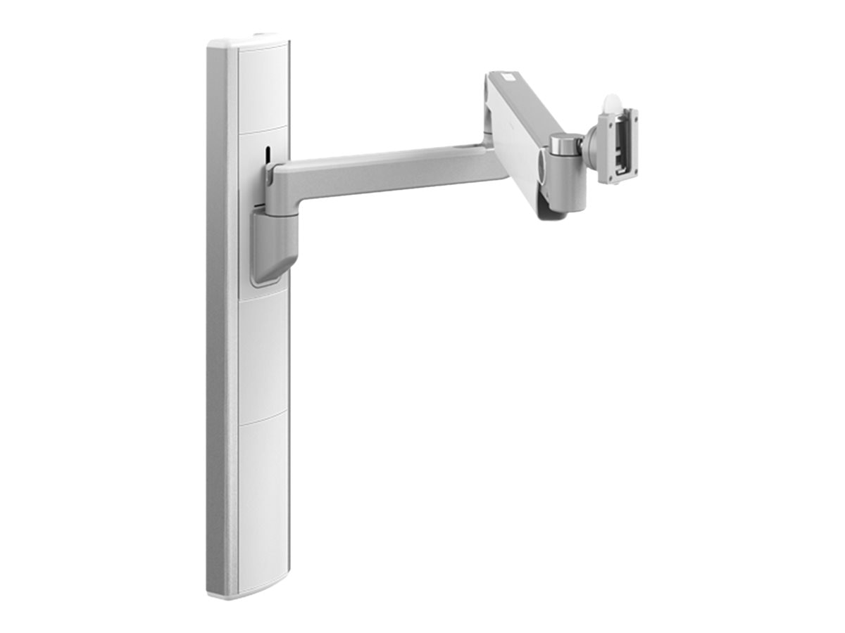 Humanscale V6 Wall Station, 27 Track, 12 Straight Link 20 Heavy Duty Dynamic Link Arm