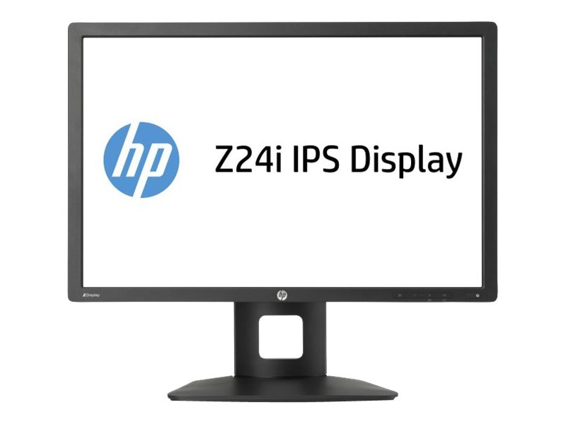 HP 24 Z24i Full HD LED-LCD Monitor, Black, D7P53A8#ABA, 16068561, Monitors - LED-LCD