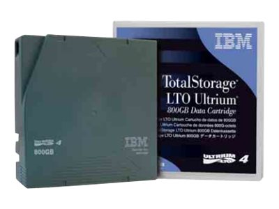 IBM Ultrium LTO-4 800GB 1.6TB Tape Cartridge, 95P4436