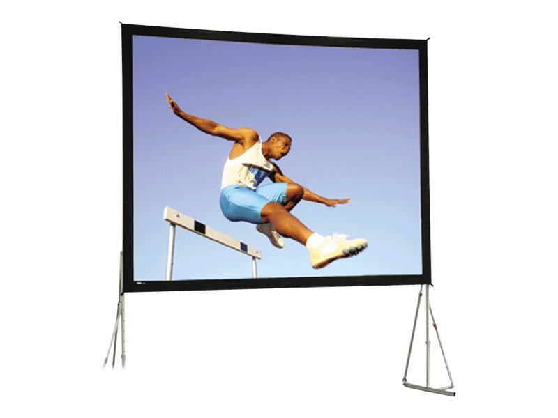 Da-Lite Heavy-Duty Fast-Fold Deluxe Projection Screen, Da-Mat, 16:9, 8.5' x 14.3', 99794, 11846466, Projector Screens