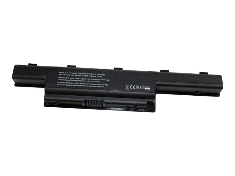 V7 6-Cell Battery Gateway NV59C AS10D31 AK.006BT.080 27.G8507.001, GTW-NV59CV7, 16078558, Batteries - Notebook