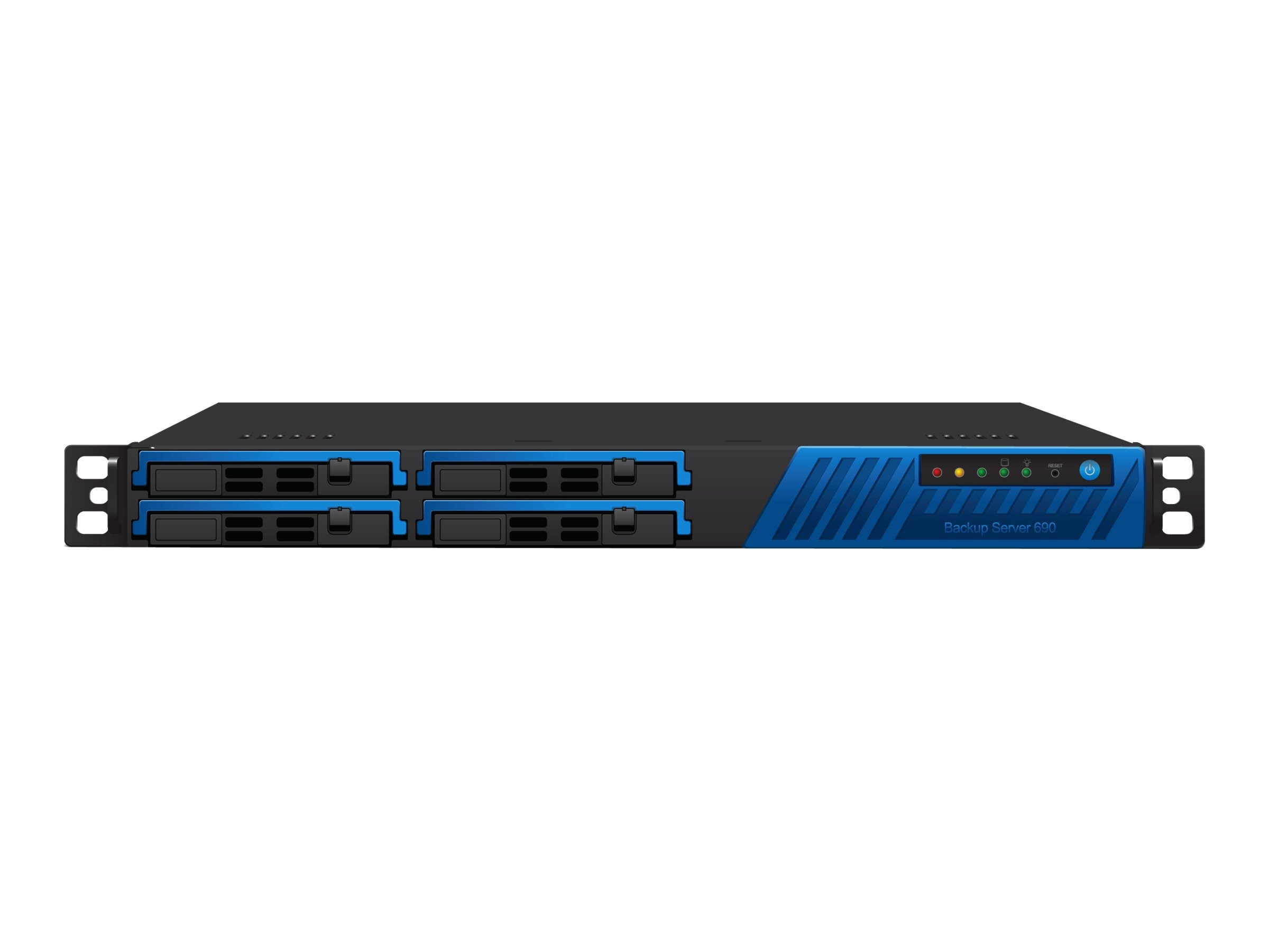Barracuda Backup Server 690 w 5-year Energize Updates, BBS690A5, 12837975, Disk-Based Backup