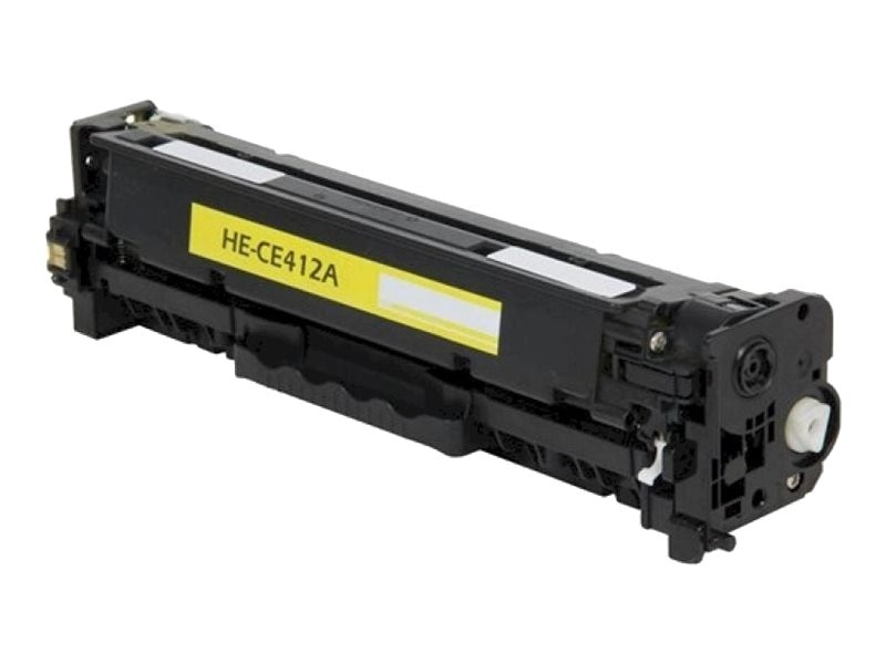 Ereplacements CE412A Yellow Toner Cartridge for HP, CE412A-ER, 18373817, Toner and Imaging Components