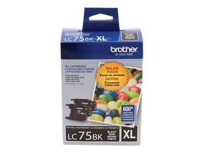 Brother Black Innobella High Yield XL Series Ink Cartridges for MFC-J6510DW & MFC-J6710DW (2-pack)