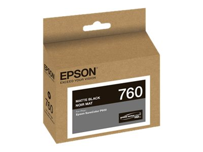 Epson Matte Black Ultrachrome HD 760 Standard-Capacity Ink Cartridge
