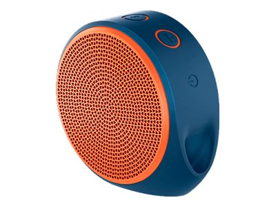 Logitech X100 Mobile Wireless Speaker - Orange, 984-000362, 16960268, Speakers - Audio