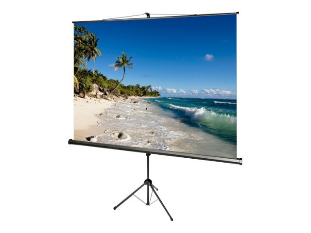 Draper AccuScreen Tripod Projection Screen, Matte White, 1:1, 71, 800069, 12349331, Projector Screens