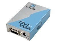 Gefen DVI to VGA Conversion Box, EXT-DVI-2-VGA, 7049763, Scan Converters