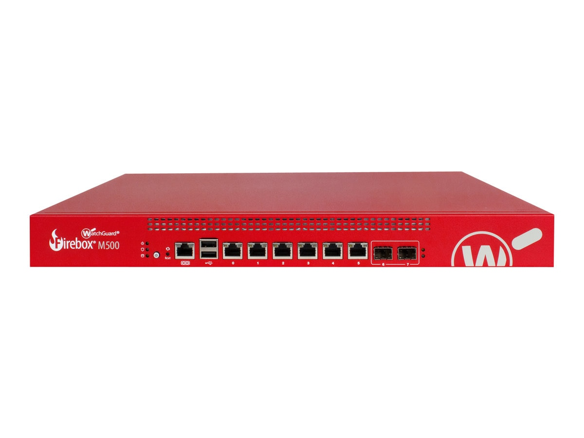 Watchguard Firebox M500 with Security Suite (3 Years), WGM50033