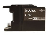Brother Black Innobella Super High Yield XXL Series Ink Cartridge for MFC-J6510DW & MFC-J6710DW All-In-Ones, LC79BK, 12358675, Ink Cartridges & Ink Refill Kits
