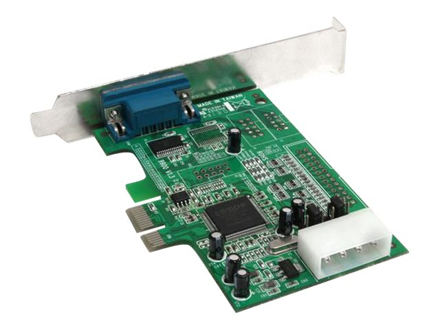 StarTech.com 1-Port Native PCI Express RS232 Serial Adapter Card with 16550 UART, PEX1S553