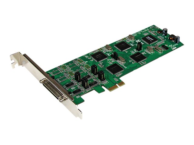 StarTech.com 8 Port PCI Express (PCIe) RS-232 422 485 Serial Card, PEX8S232485, 16281898, Controller Cards & I/O Boards
