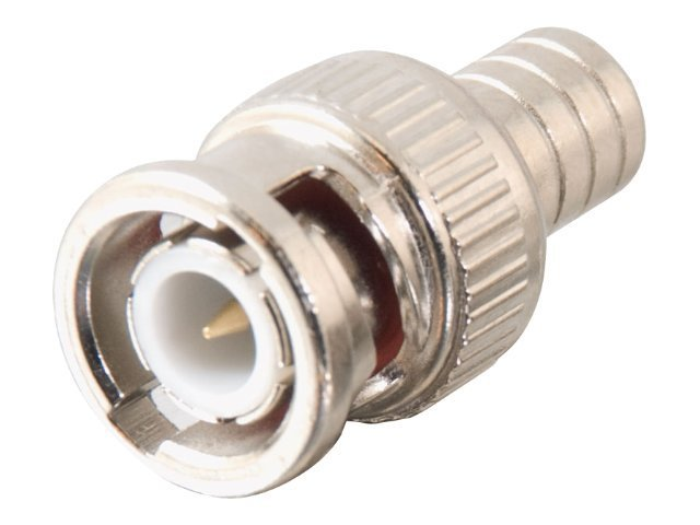 C2G BNC Crimp Connector for RG59U, 10-Pack, 40679, 8339375, Cable Accessories