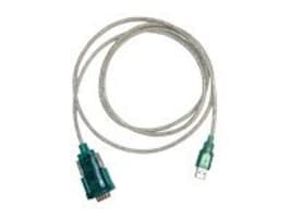 Unitech Serial Adapter Cable, USB-DB9, 6ft, PW201-2, 6455559, Adapters & Port Converters