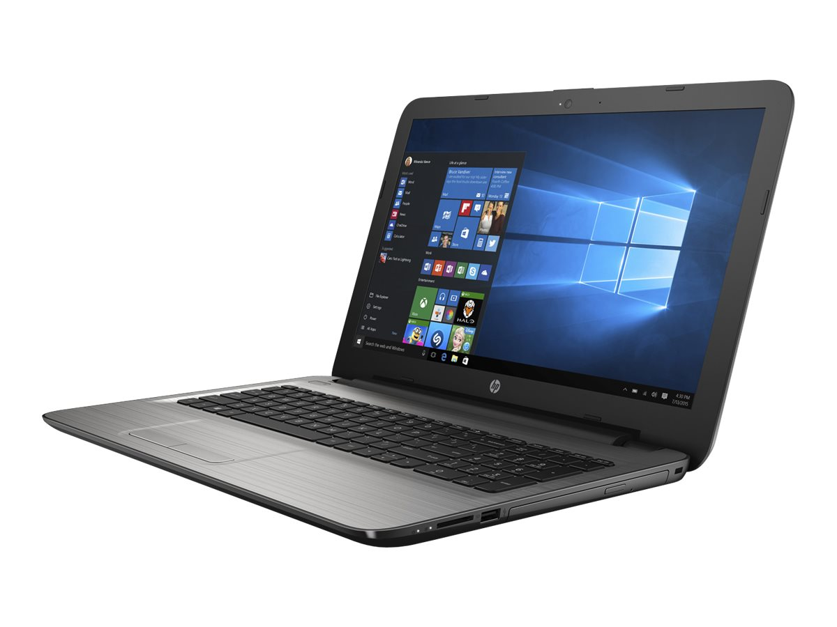 HP Notebook PC A8-7410 1TB 15.6 W10, Silver