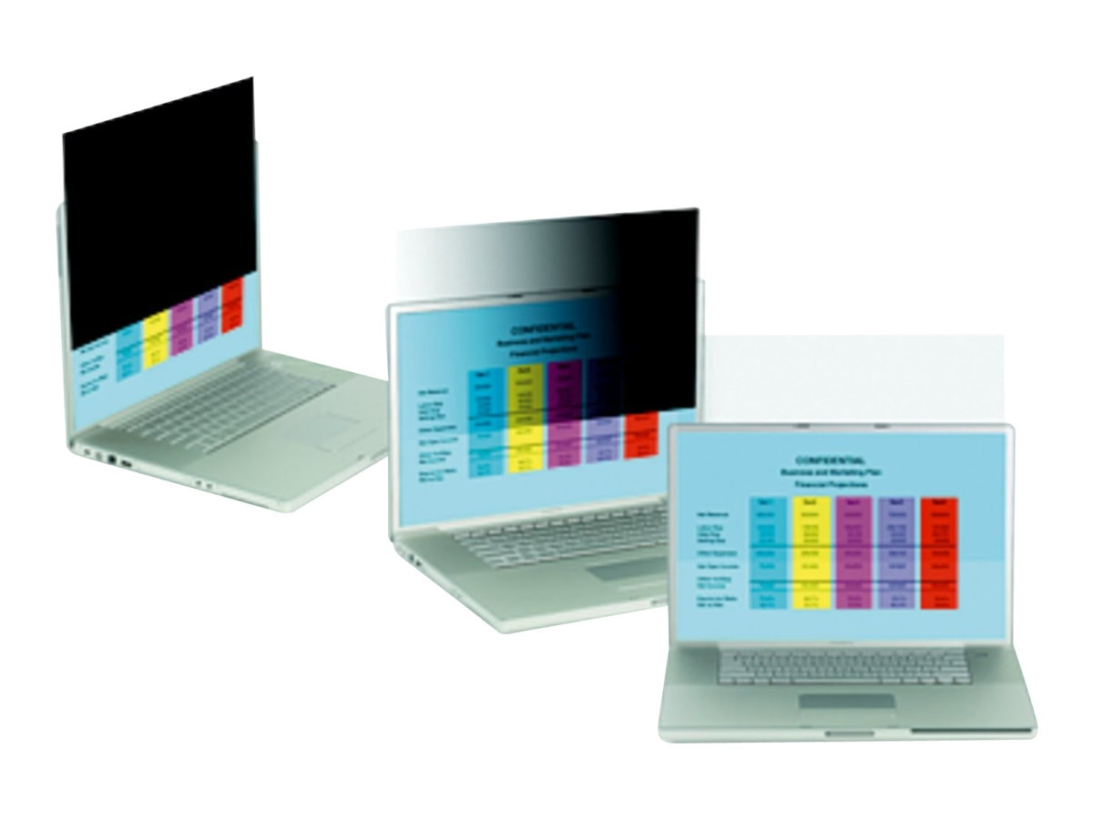 3M 15.4 Widescreen Notebook Privacy Filter, PF15.4W, 6325121, Glare Filters & Privacy Screens