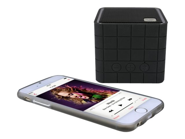 V7 Bluetooth Wireless Speaker & Built-In Battery - Black, 2W, 3.5mm, SP5000-BT-BLK-9NC, 16432553, Speakers - Audio