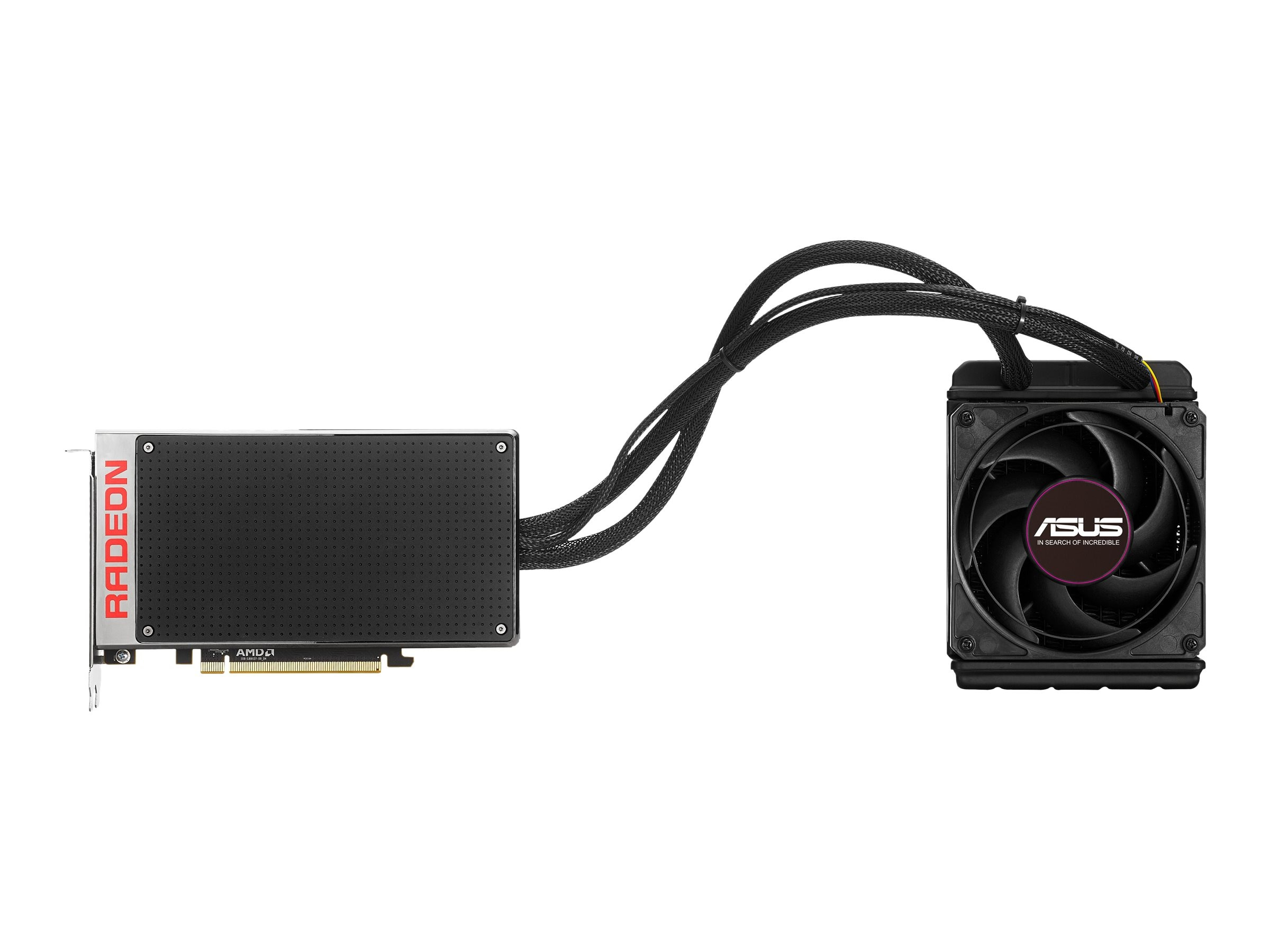 Asus Radeon R9 Fury X PCIe 3.0 Graphics Card, 4GB GDDR5