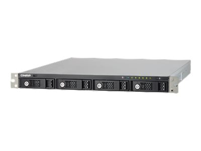 Qnap 4-Bay 1U iSCSI Hot Swap Cortex-A9 Dual-Core 1.2GHZ 1GB Storage, TS-431U-US