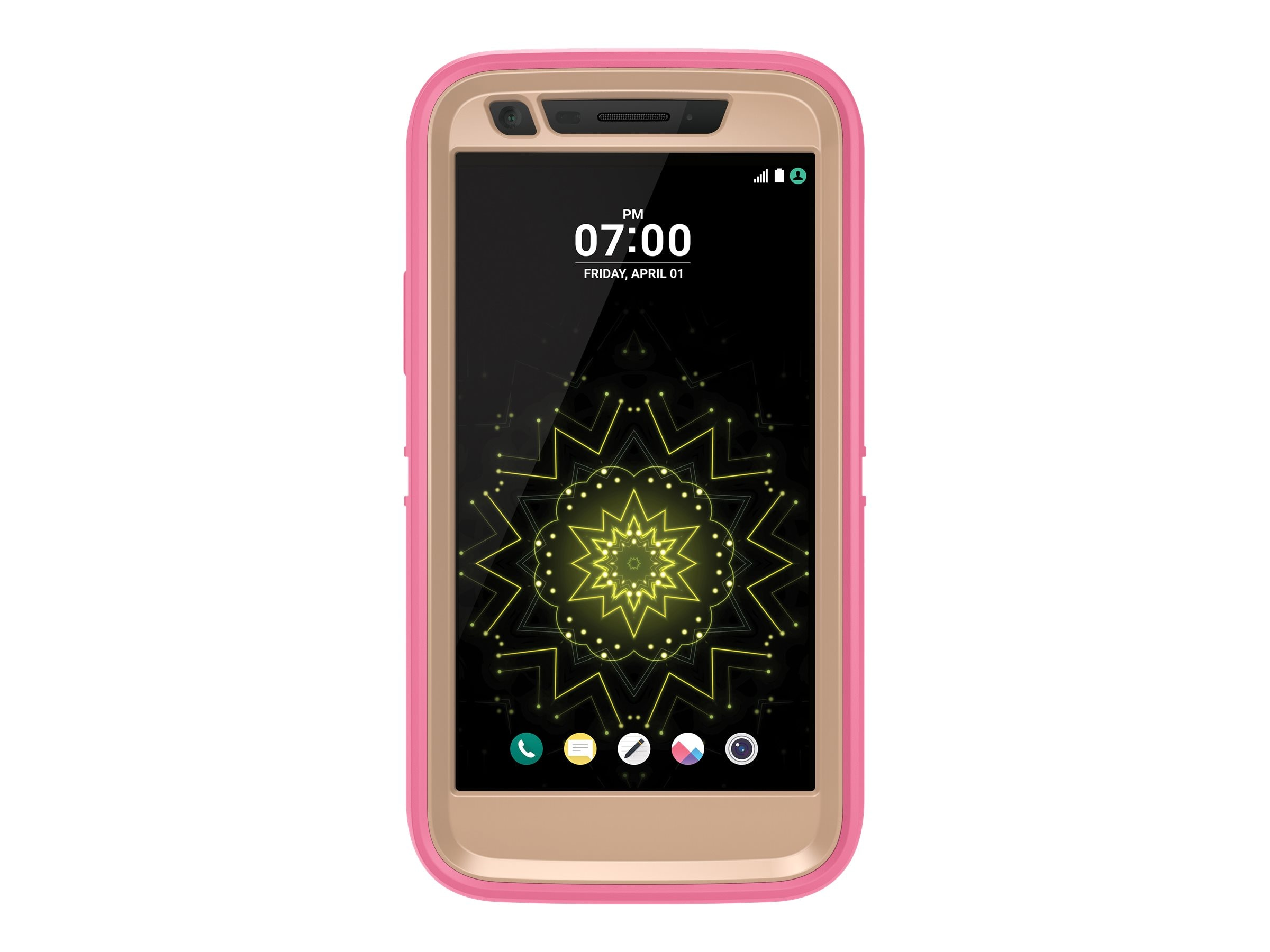 OtterBox Defender for LG, Berries n Cream, 77-53350, 31498711, Carrying Cases - Phones/PDAs