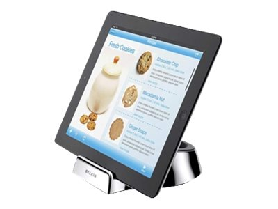 Belkin Chef Stand + Wand for iPad Tablet, Silver, F5L099BT