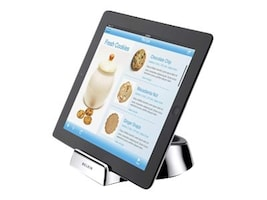 Belkin Chef Stand + Wand for iPad Tablet, Silver, F5L099BT, 28177641, Stands & Mounts - AV