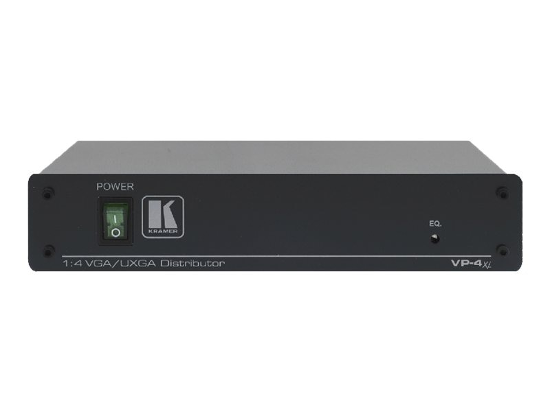 Kramer 1:4 Computer Graphics Video Distribution Amplifier, VP-4XL, 15184383, Video Extenders & Splitters