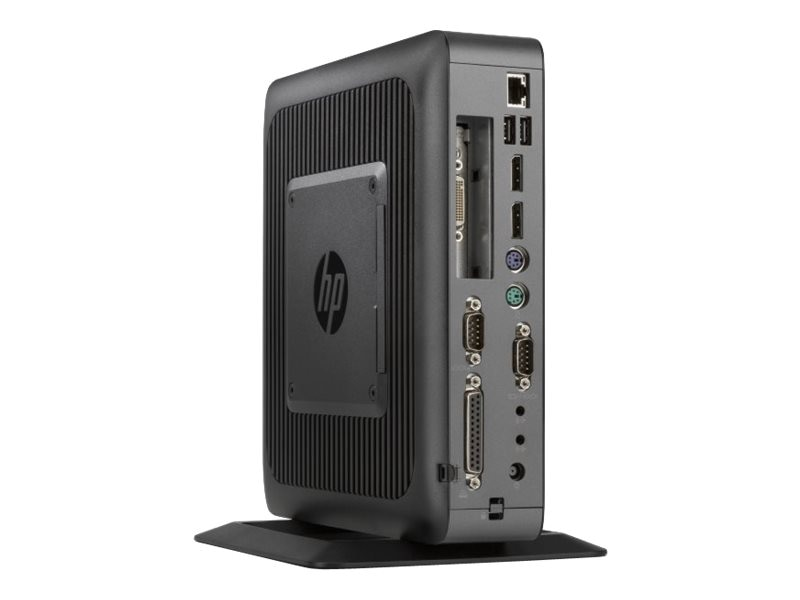 HP t620 PLUS Flexible Thin Client AMD QC GX-420CA 2.0GHz 4GB RAM 16GB Flash HD8400E GbE agn BT WES8, G6F33AA#ABA