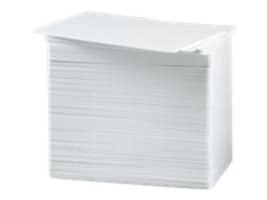Zebra 3.4 x 2.13 White PVC Cards (500-pack), 104523-111, 266112, Paper, Labels & Other Print Media