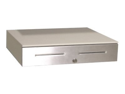 APG S4000, Steel Front, Dual Media Slots, Coin Roll Storage, Cloud White, JD320-CW1820-C, 8983507, Cash Drawers