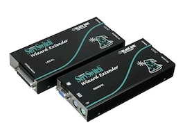 Black Box ServSwitch Wizard Extender Single-Access Serial Kit with Skew Compensation, ACU5110A, 8126142, KVM Displays & Accessories