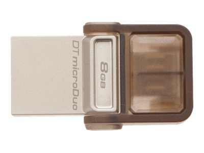 Kingston 8GB DataTraveler MicroDuo USB Flash Drive, DTDUO/8GB, 16929789, Flash Drives