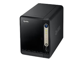 Zyxel NAS Media Server - DLNA, NSA320S, 17538413, Network Attached Storage
