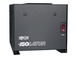 Tripp Lite Isolator Series 120V 500W Isolation Transformer-Based Power Conditioner, (4) Outlets, IS500, 405195, Line Conditioners