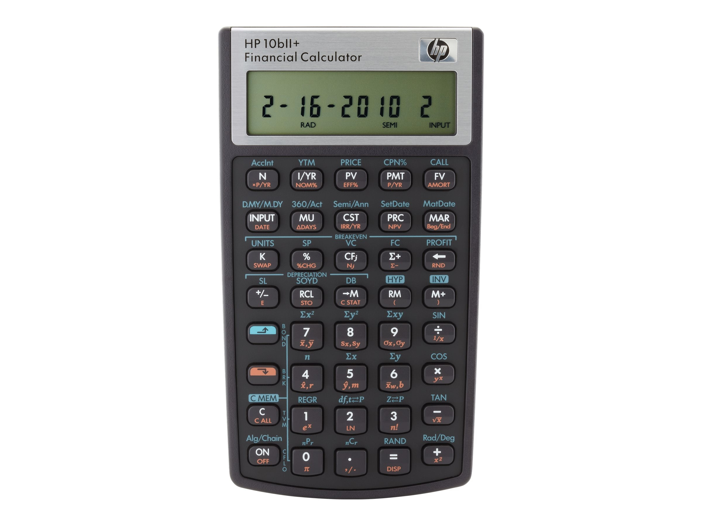 HP 10bII+ Financial Calculator, NW239AA#ABA, 12892991, Calculators