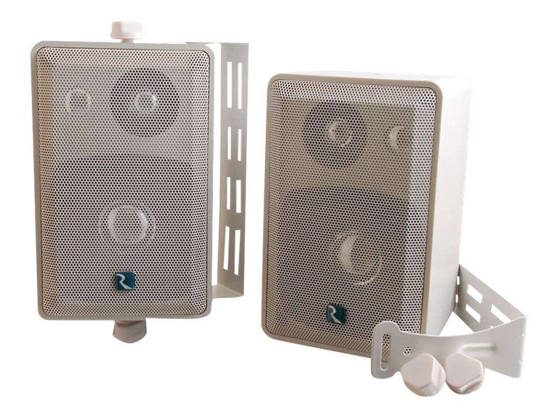 C2G 40 Watt 3-Way Wall Ceiling-Mount Speakers, 40539