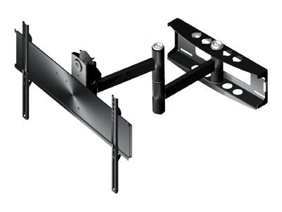 Peerless PLA Series Articulating Wall Arm for 37-80 Displays, Black, PLA50-UNL, 6901002, Stands & Mounts - AV