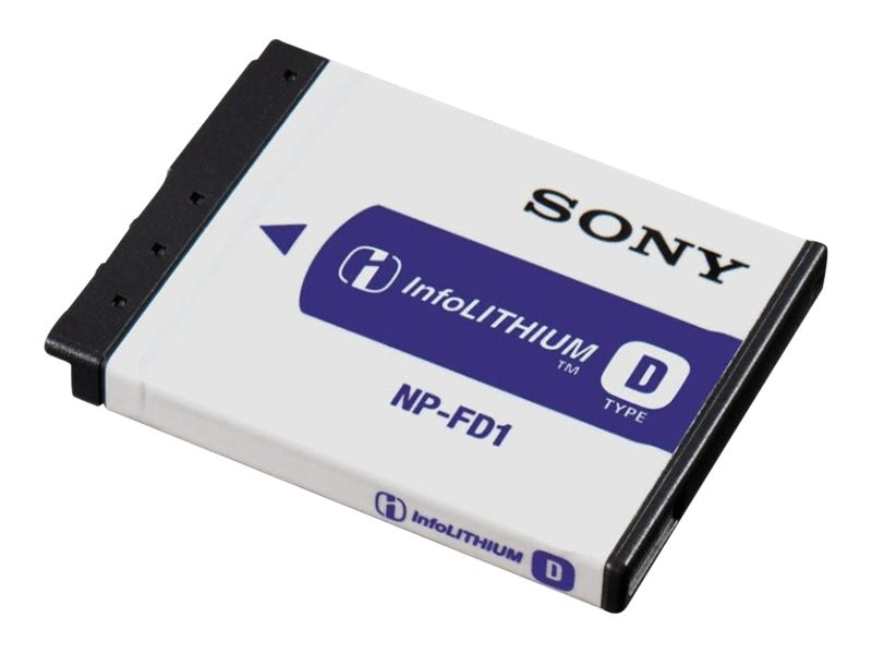 Sony Rechargeable Battery Pack, NPFD1/M8, 15486120, Batteries - Camera