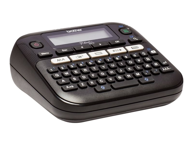 Brother PT-D210 Easy-to-Use Label Maker, PTD-210, 30607348, Printers - Label