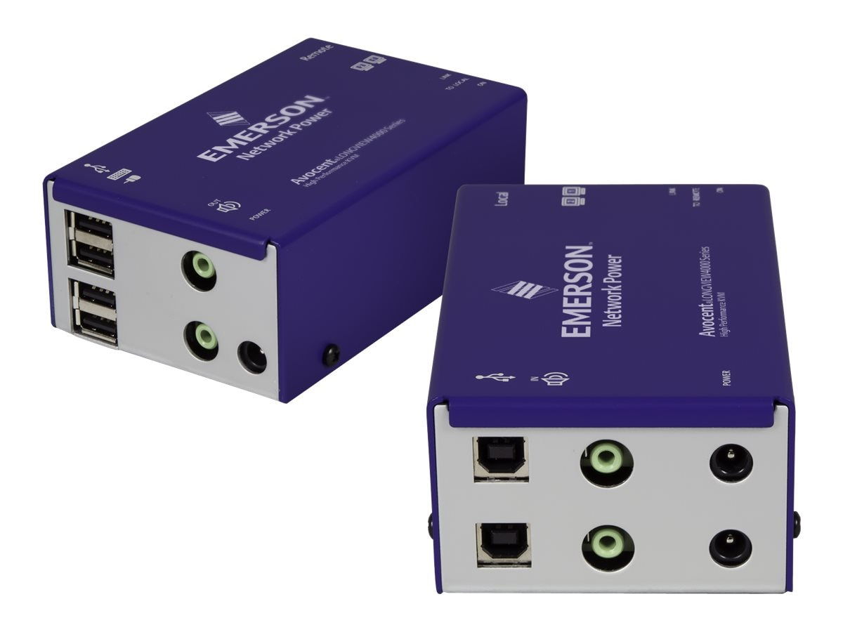 Avocent Longview Dual DVI USB Audio Catx 50M