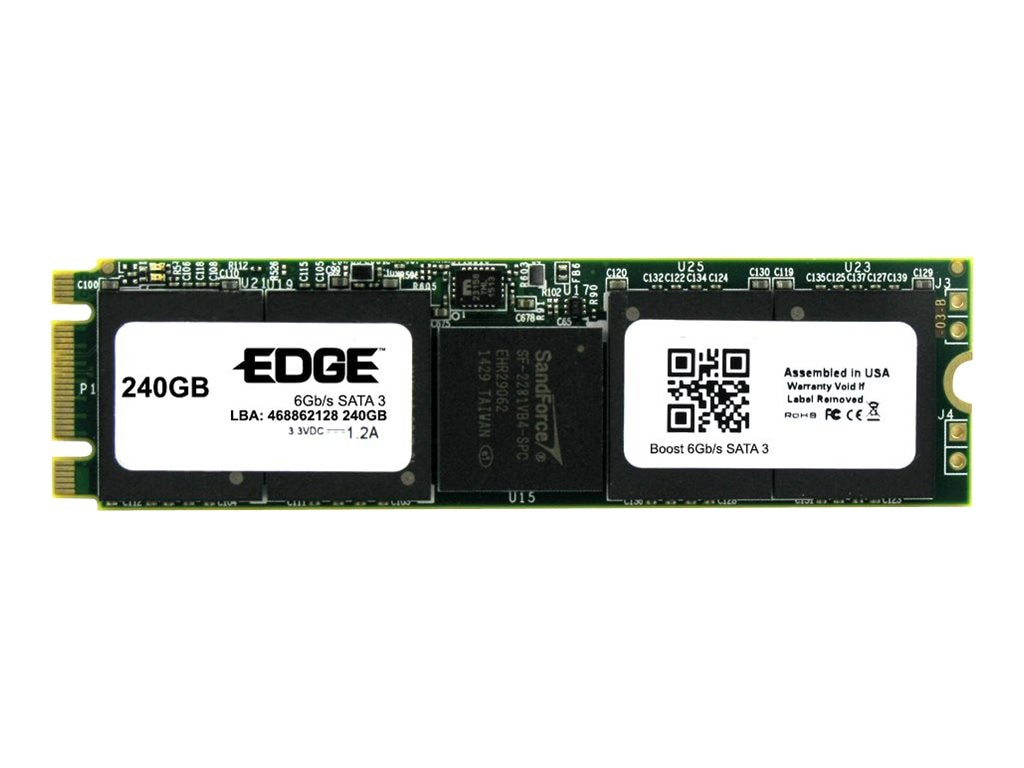 Edge 240GB Boost SATA 6Gb s M.2 2280 Double Sided Solid State Drive, PE246907