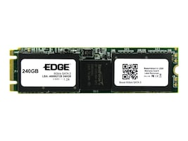 Edge 240GB Boost SATA 6Gb s M.2 2280 Double Sided Solid State Drive, PE246907, 30616594, Solid State Drives - Internal