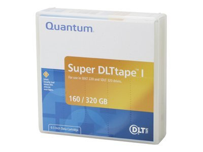 Quantum 160 320GB 1 2 558m SDLT-1 Tape Cartridge, MR-SAMCL-01, 221464, Tape Drive Cartridges & Accessories
