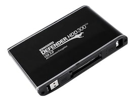 Kanguru™ 256GB Defender SSD300 USB 3.0 Encrypted FIPS 140-2 External Solid State Drive, KDH3B-300F-256S, 22252057, Solid State Drives - External