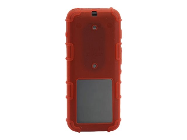 Zcover Transparent Silicone Case, Red Dock-in-case for Cisco 8821 8821-EX, CI821HCD