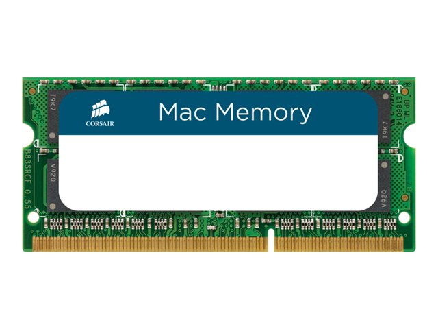 Corsair 16GB PC3-10600 204-pin DDR3 SDRAM SODIMM Kit for Select Macbook Pro, iMac, Mac Mini, CMSA16GX3M2A1333C9, 13537616, Memory