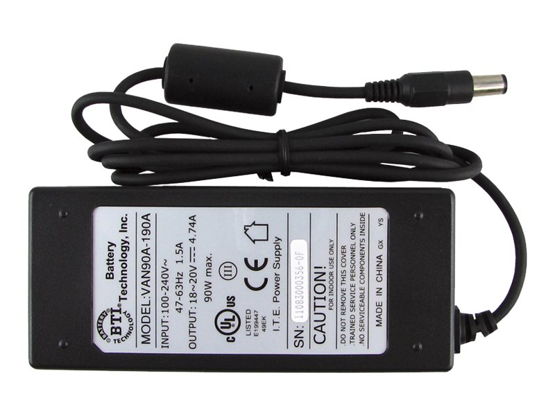 BTI AC Adapter for  Dell Latitude Inspiron Precision NB C2894, 330-1827-BTI